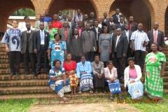 Group: Nkhoma Prison Chaplain Seminar attendees 2017.