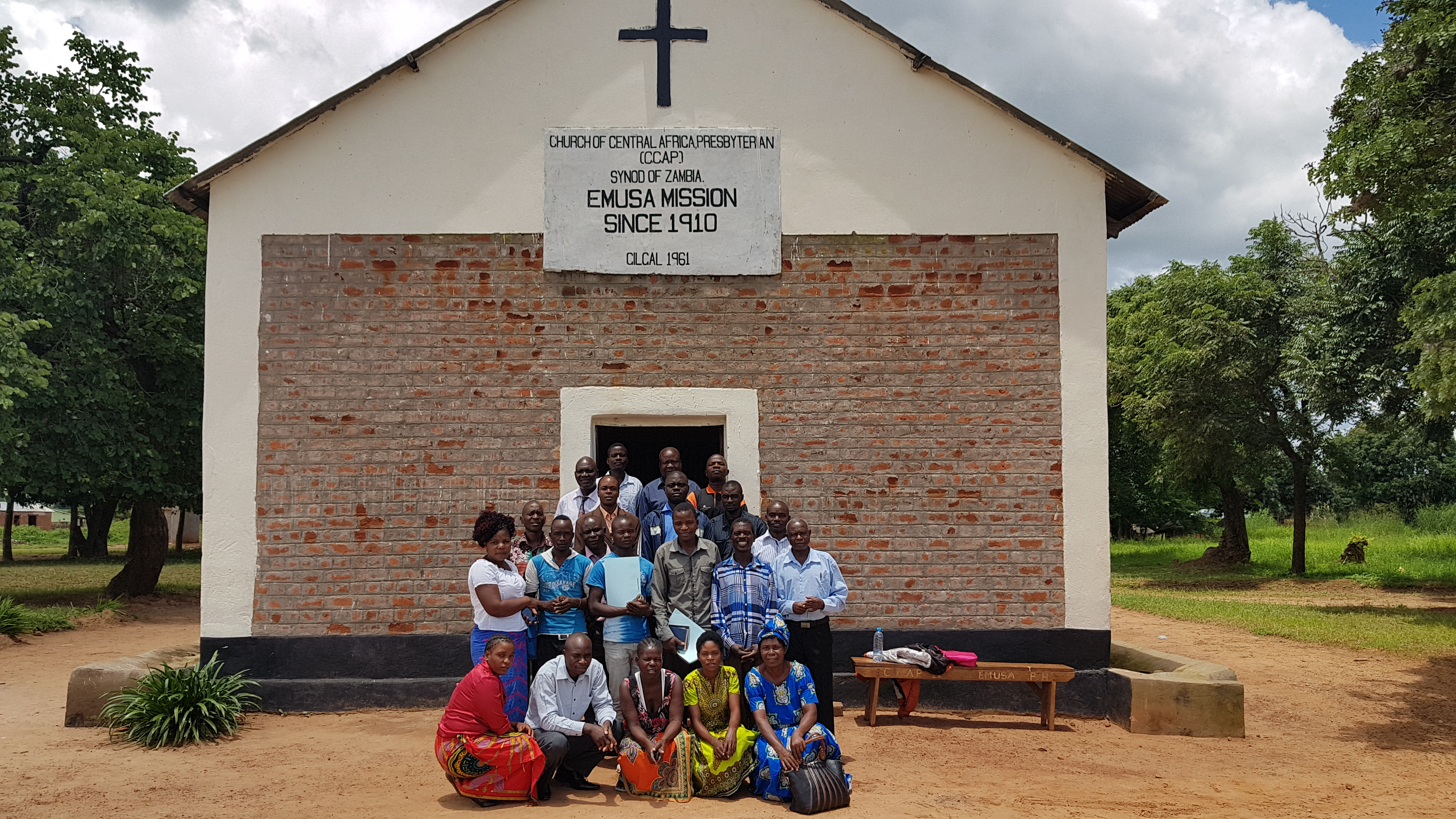 CCAP Synod of Zambia CHE trainers and CHE home visitors after a week-long Home Visitor Training