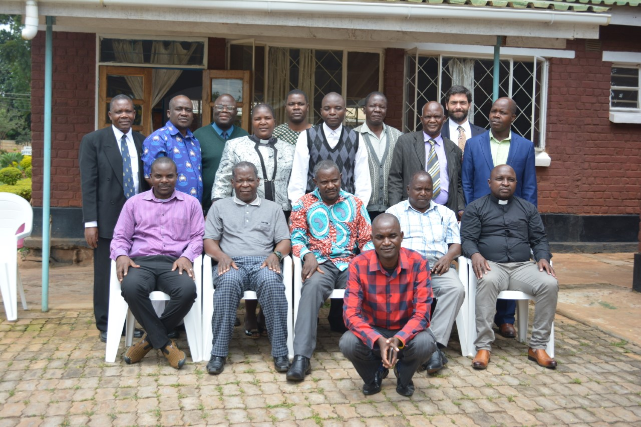 The members of the newly created Chaplain Advisory Committee.
