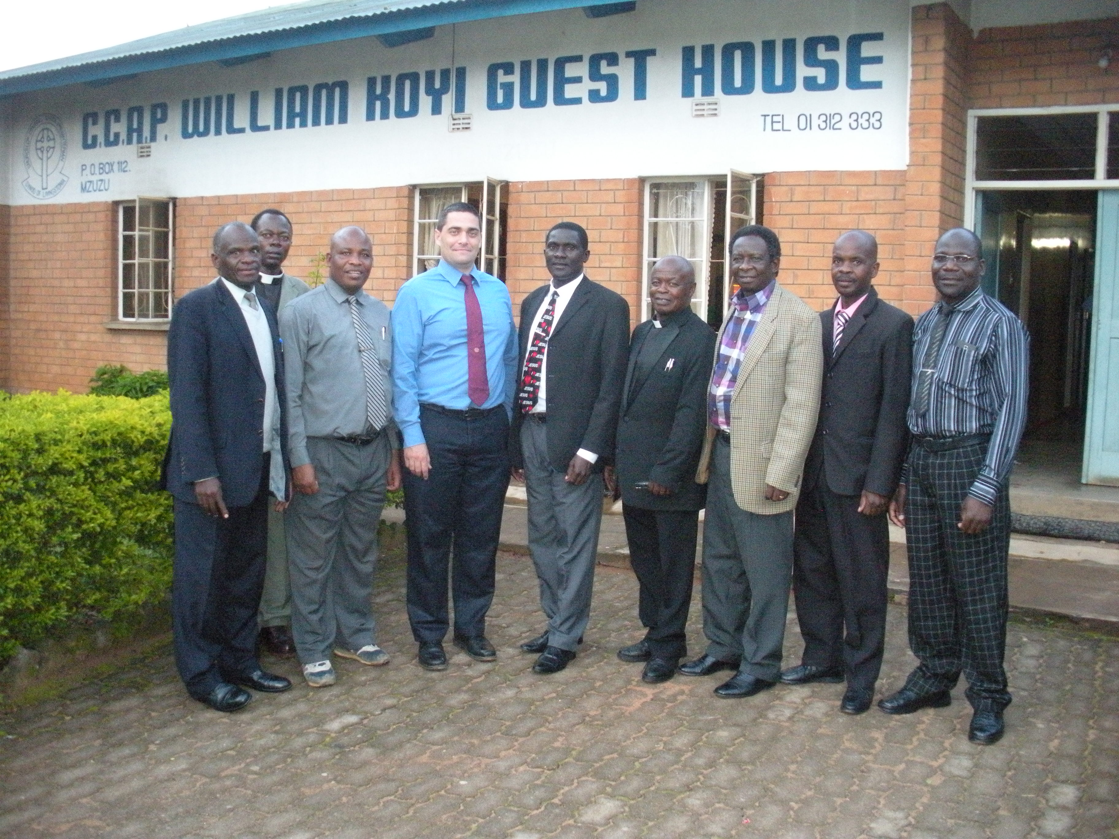 Meeting with the chaplains of the Synod of Livingstonia.