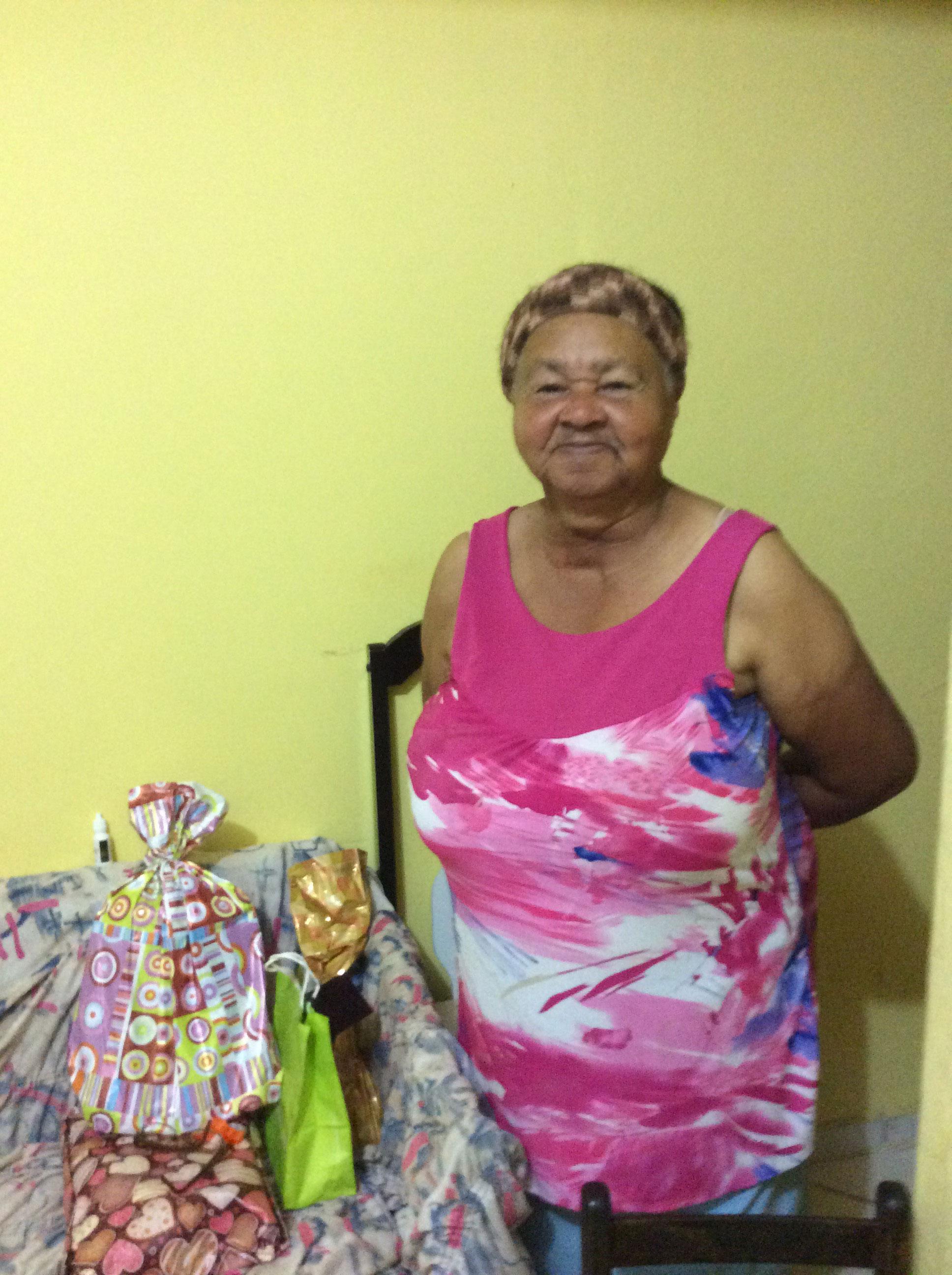 We celebrated Maria Conceição's 80th birthday