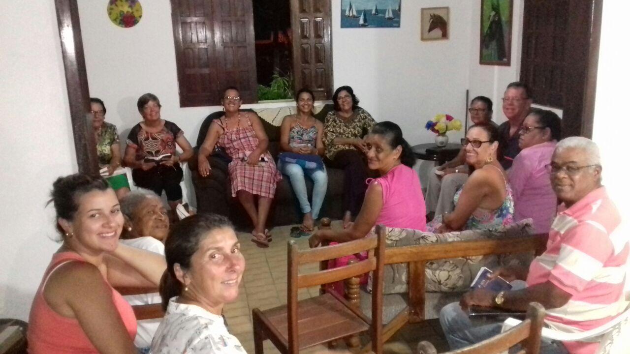 A home prayer meeting