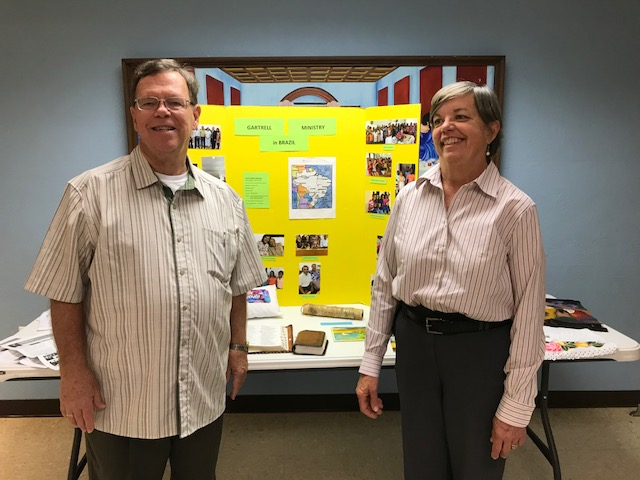 Gordon and Dorothy illustrate their work in Brazil.