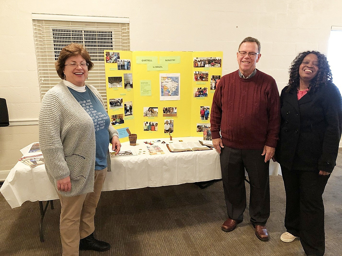 Sharing about our work at the Western Kentucky Presbytery meeting.