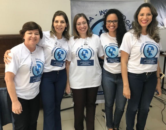 The team of women from the Instituto Gartrell who organized the seminar workshops.