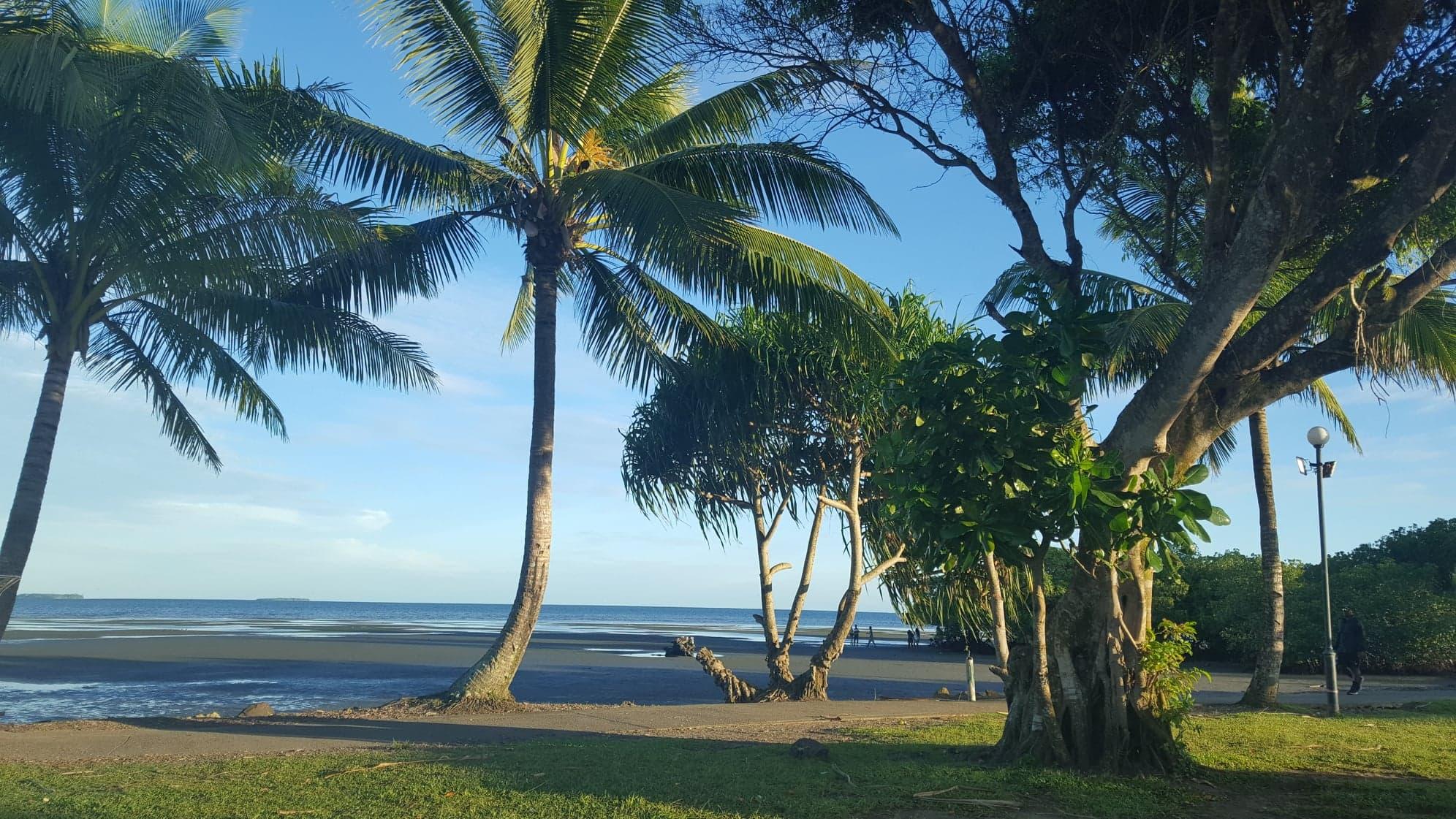 Beautiful beaches in the South Seas. Photo credit Hery Ramambasoa.