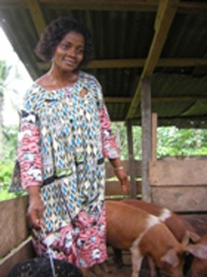Cameroon woman