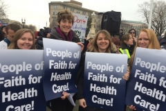 Presbyterian participants at the 59th Session of the United Nations Commission on the Status of Women marched on International Women's Day, March 8, to call world leaders to step up efforts to achieve gender equality.