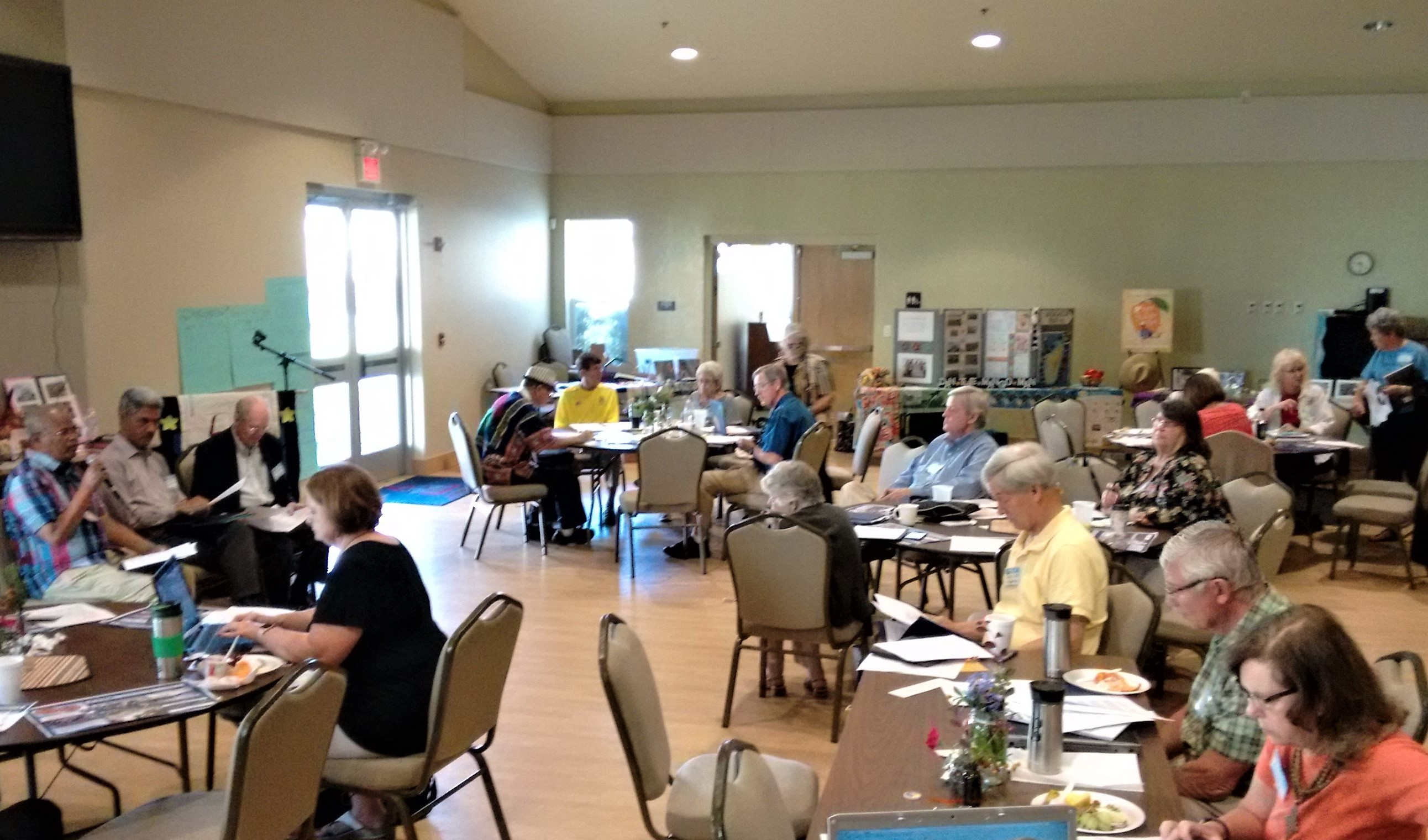 The Madagascar Mission Network (MMN) convenes for the 2nd time in as many years at Grace Covenant Presbyterian Church in Orlando, FL. Participants included people from: three countries, a number of organizations (including the PCUSA, the FJKM, and the Outreach Foundation), and a large number of congregations and individuals. They gathered to clarify MMN's vision/mission, its working objectives, its officers and other business relevant to work in support of the FJKM church in its holistic ministry and visionary leadership, while helping to improve the quality of spiritual and earthly life.
