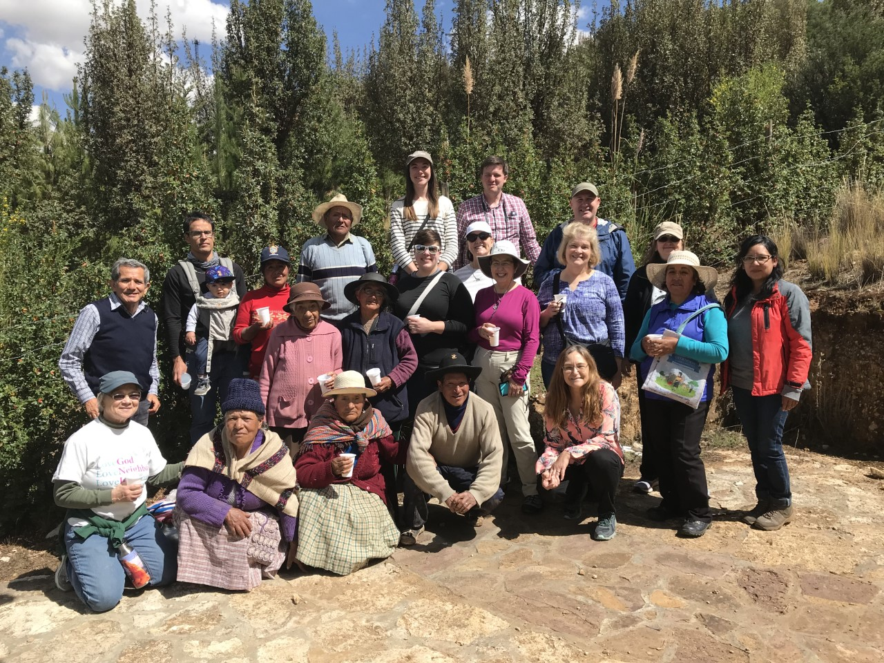 Giddings-Lovejoy continues to travel to Peru to learn, strategize and serve together with friends from La Oroya. Photo Credit: Jed Koball