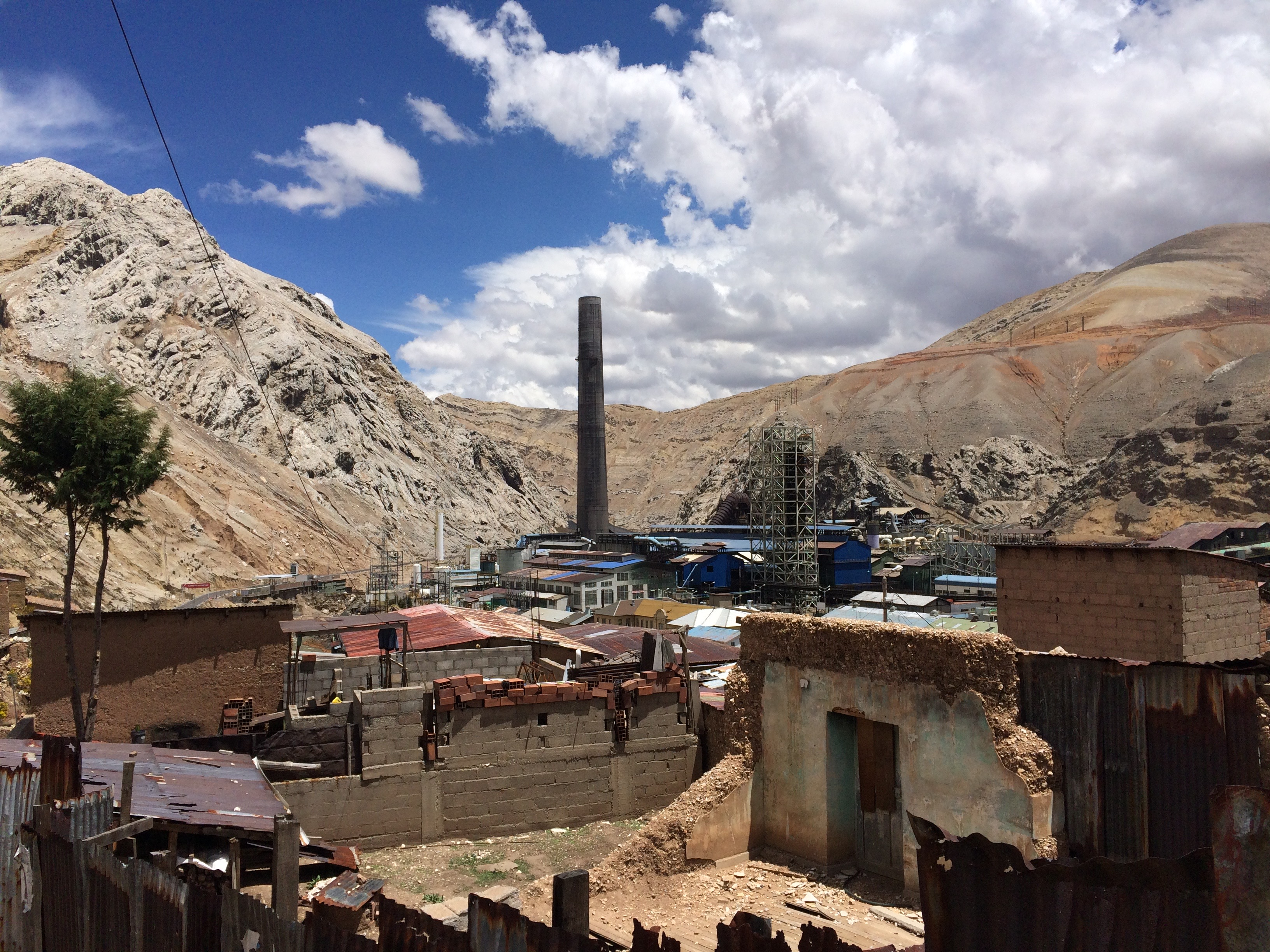 La Oroya, Peru, is considered to be one of the 10 most contaminated cities in the world due to a metallurgical smelter operating near the town center, leaving the vast majority of the population affected by lead, arsenic and cadmium among other toxins. (photo by Jed Koball)