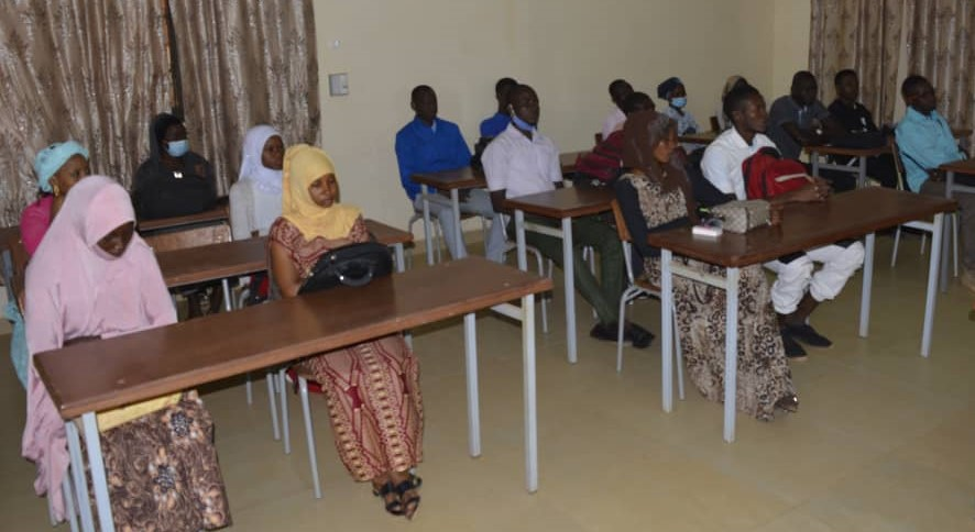 First and second year EERN University students including 5 new and 4 returning nursing students.