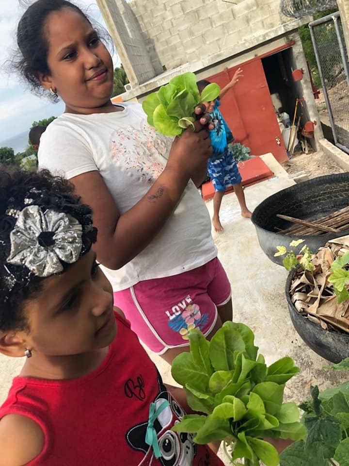 Some of the CHE communities are teaching the joys of gardening. PC(USA) mission co-worker Mark Hare has been instrumental in these efforts.