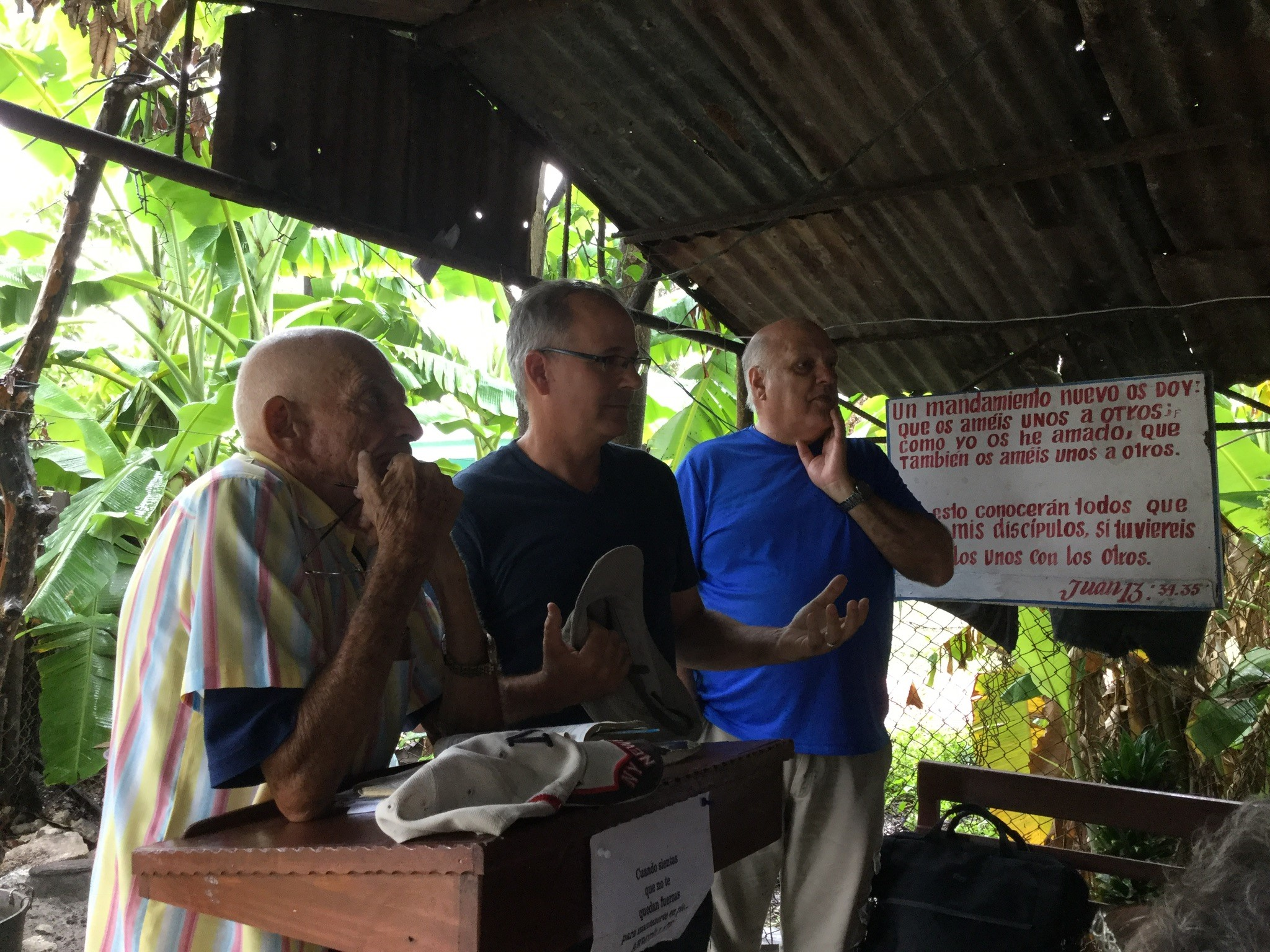 """""""Mission"""" church leader in Jatibonico with the leadership of the Presbyterian-Reformed Church in Cuba."""