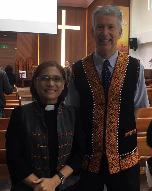 Pastor Muni and John.