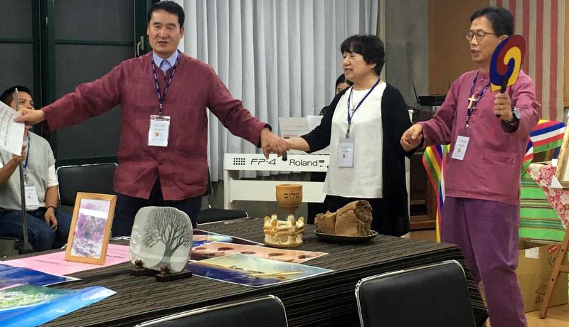 Korean Pastors sharing at Culure Night
