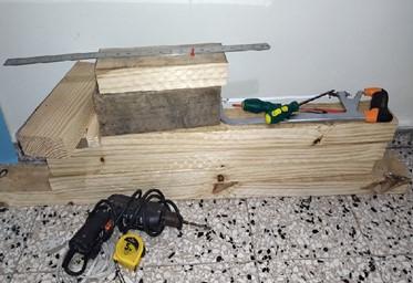Wood to make a stool