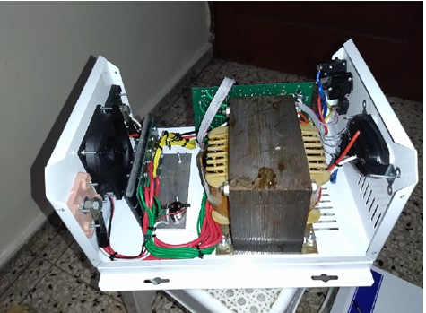 Inside an automatic inverter