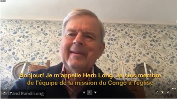 Herb Long speaks at the CMN meeting.