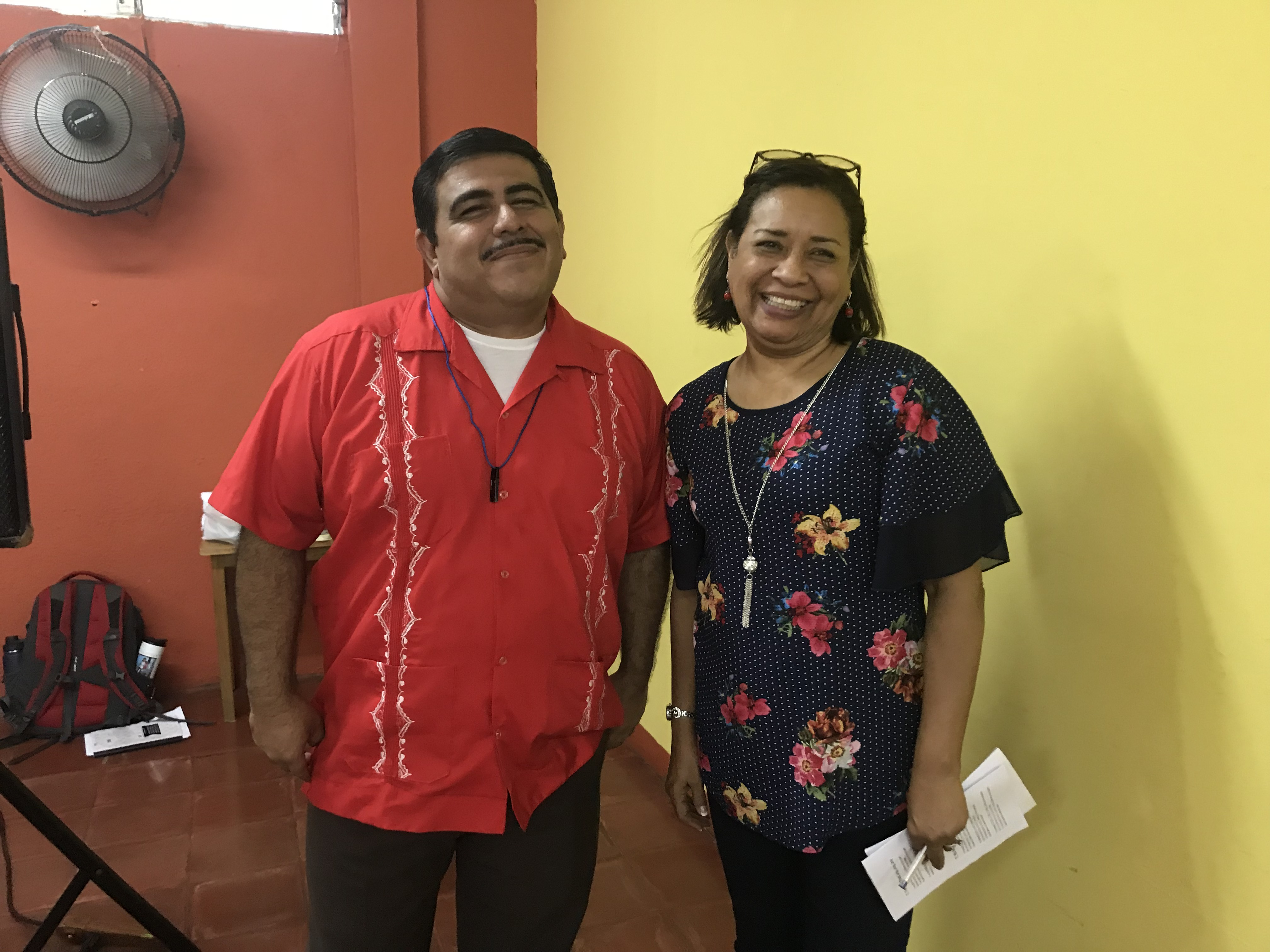 CEPAD's International Partnership Encounter was led this year by two amazing leaders, Pastor Freddy Solorzano and Anita Taylor.