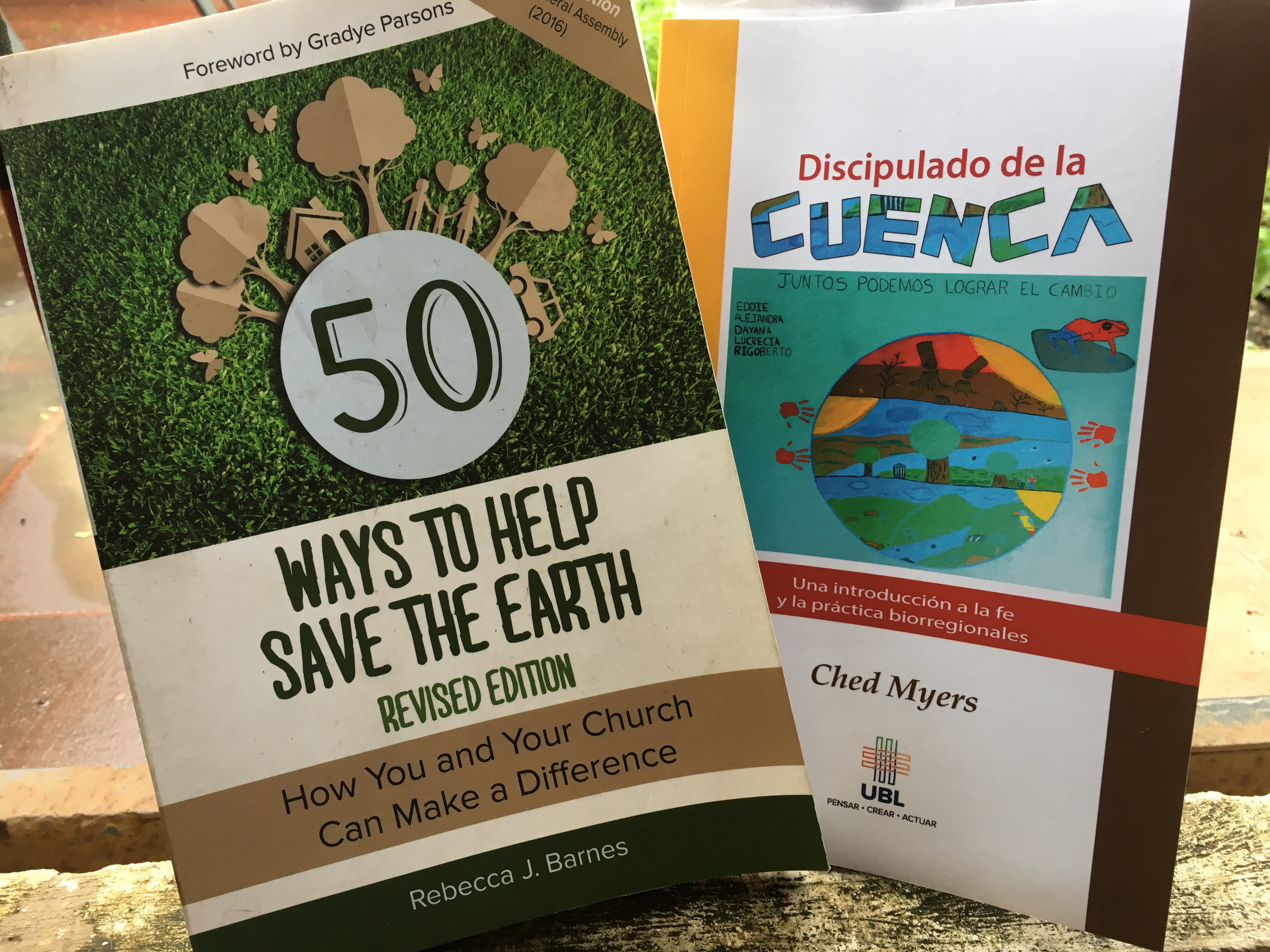Literature on caring for the planet.
