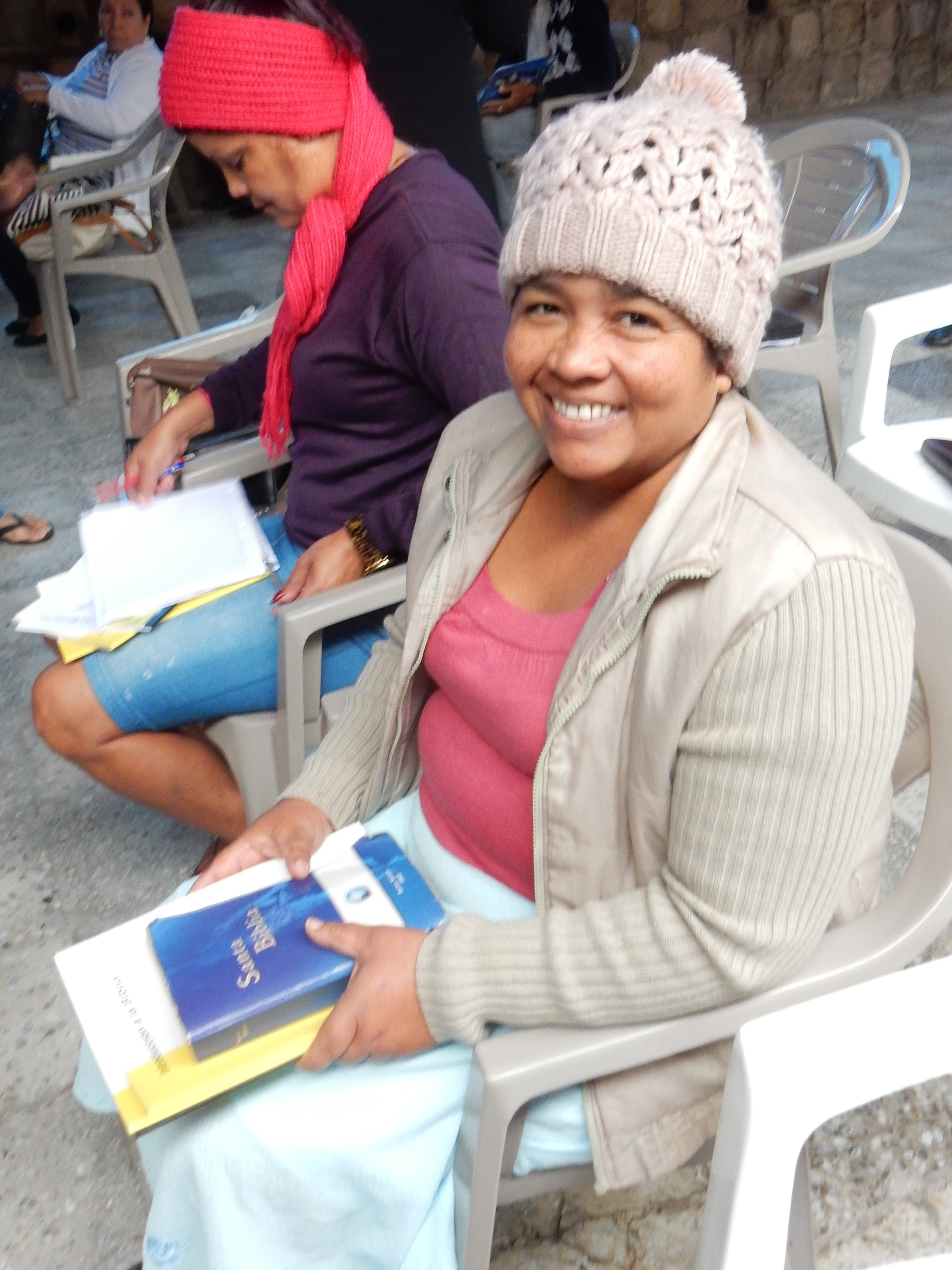 Virginia Lopez is ready to start her theological studies