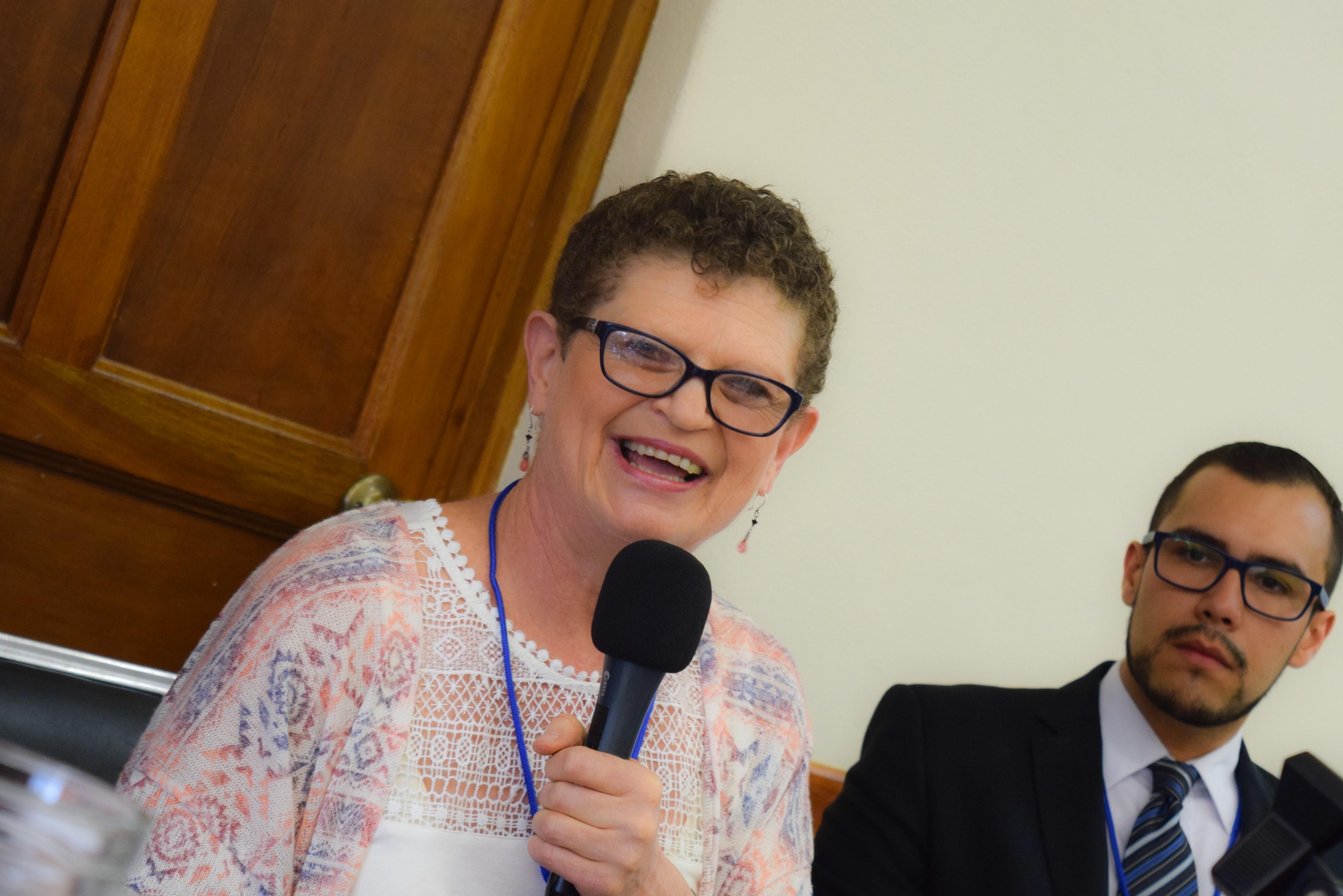 Elisabeth Cook, current president of the UBL.