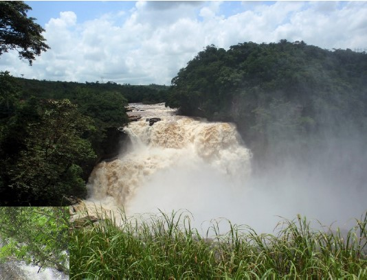 Zongo Falls on the Inkisi River