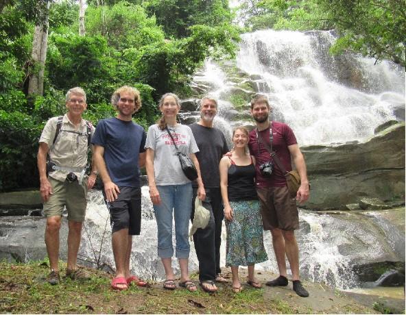 Beautiful Lulofu river cascades