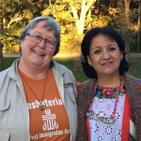 I served as Spanish-English language interpreter for Rev. Delia Leal, my Guatemalan colleague and mentor who was an International Peacemaker in 2017.