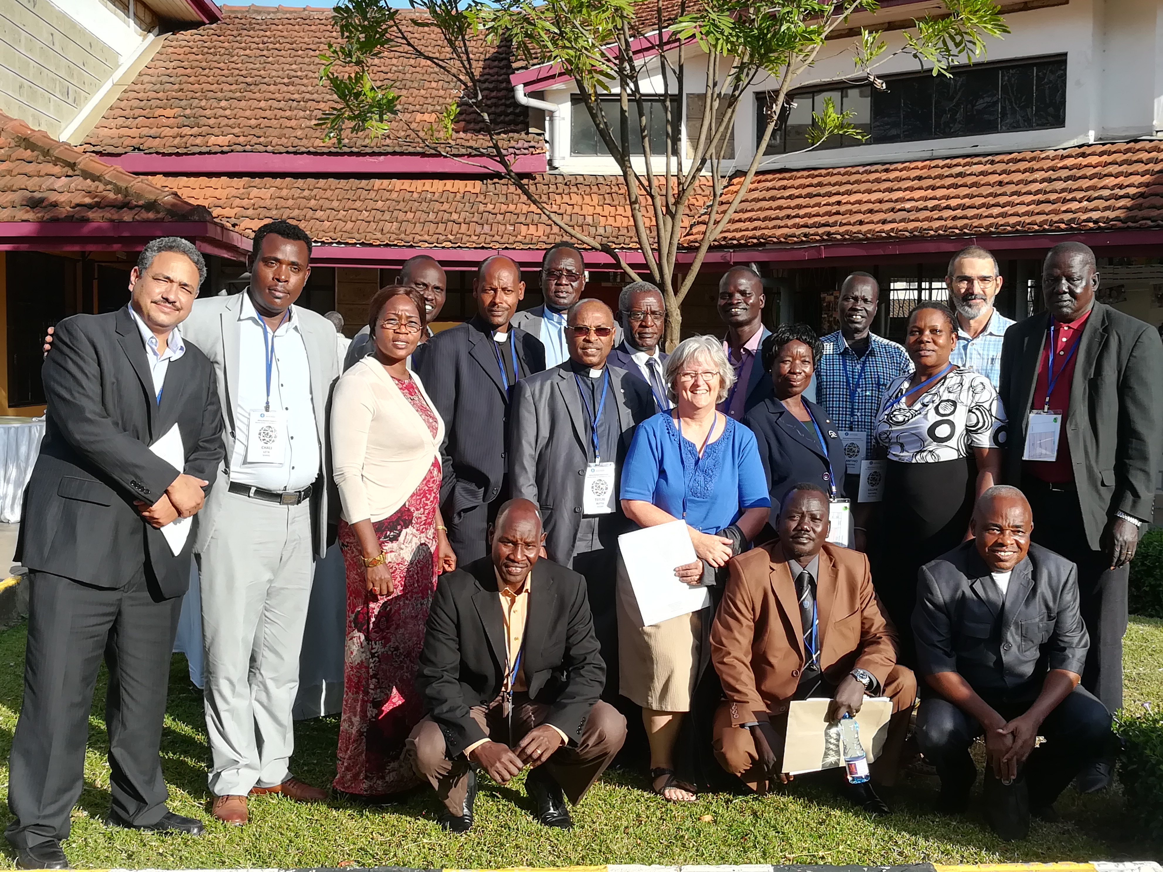 We learn with our partners in South Sudan, Ethiopia and Sudan.