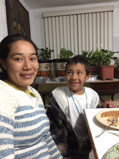 A mother and son from Honduras finding refuge at CAME — safe for now.