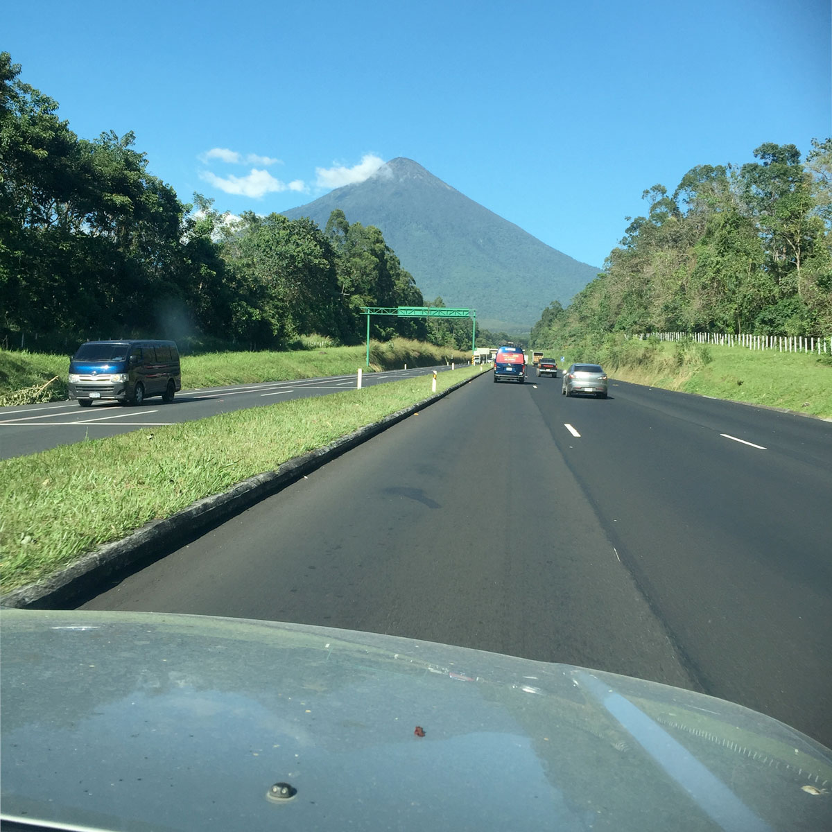 Volcán de Agua.