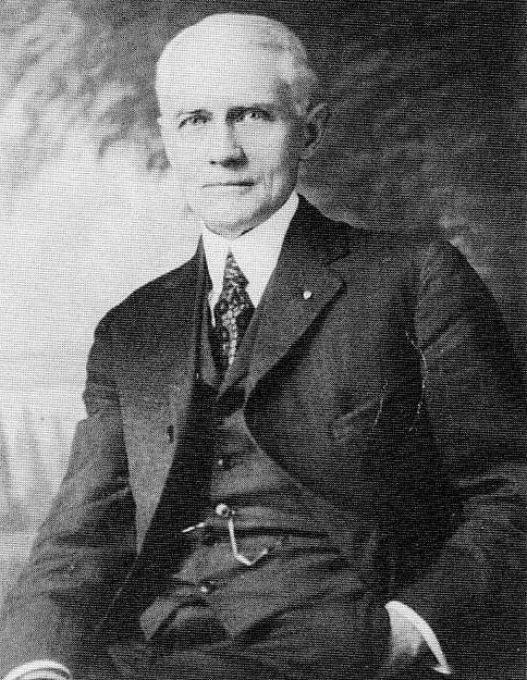 Great-grandfather J. Vernon Bell, pastor, First Presbyterian Church, Dubois, Pennsylvania