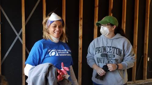 Presbyterian Disaster crews work with the Presbytery of Coastal Carolina after Hurricane Matthew. (Photo by Laura Lupton)