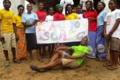 St. Charles Avenue Presbyterian Church sponsored 60 youth at a 2016 Christmas camp in Malawi. (Courtesy of SCAPC)