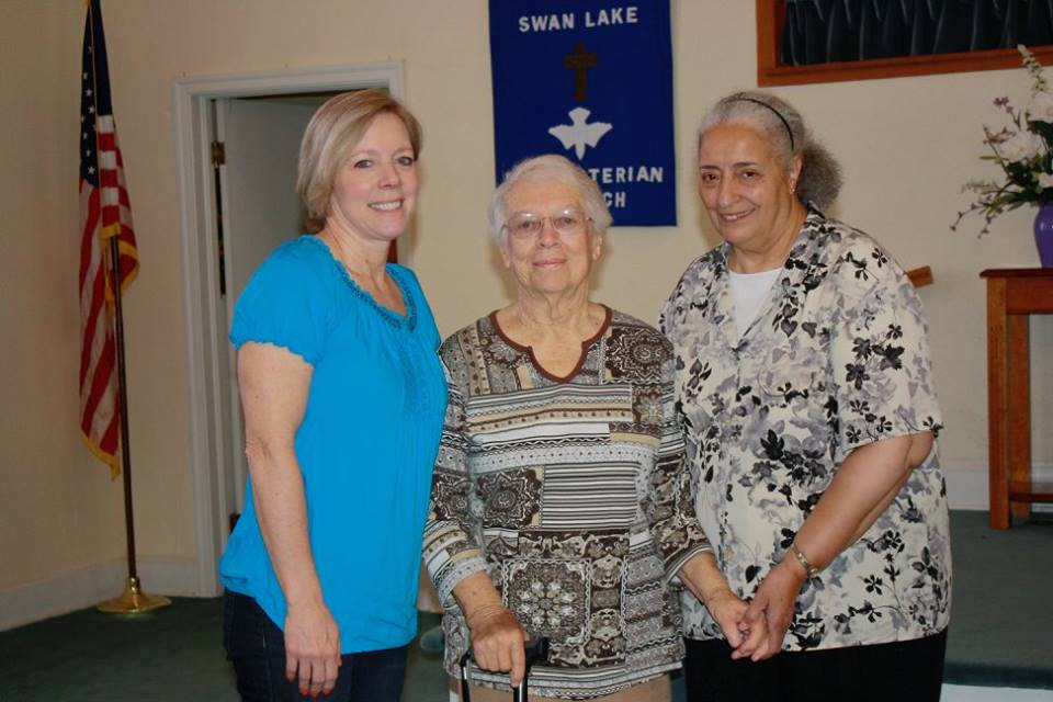 Edie and her daughter Susan have been the contact persons in Swan Lake Presbyterian Church, South Carolina, since 2014.