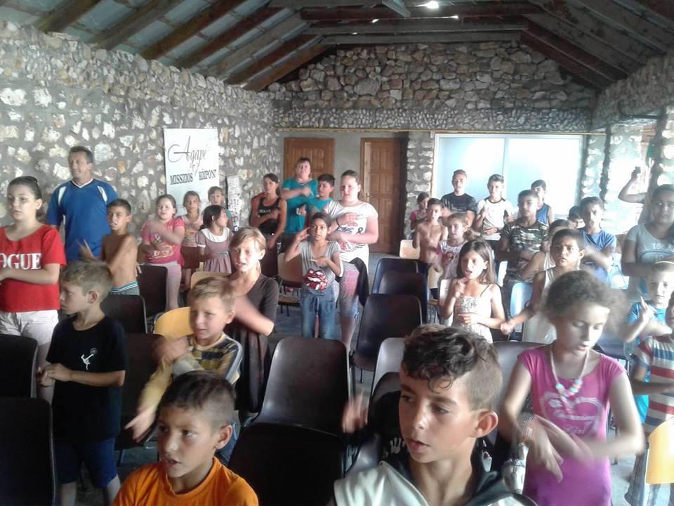 Christian summer camp in Csonkapapi.