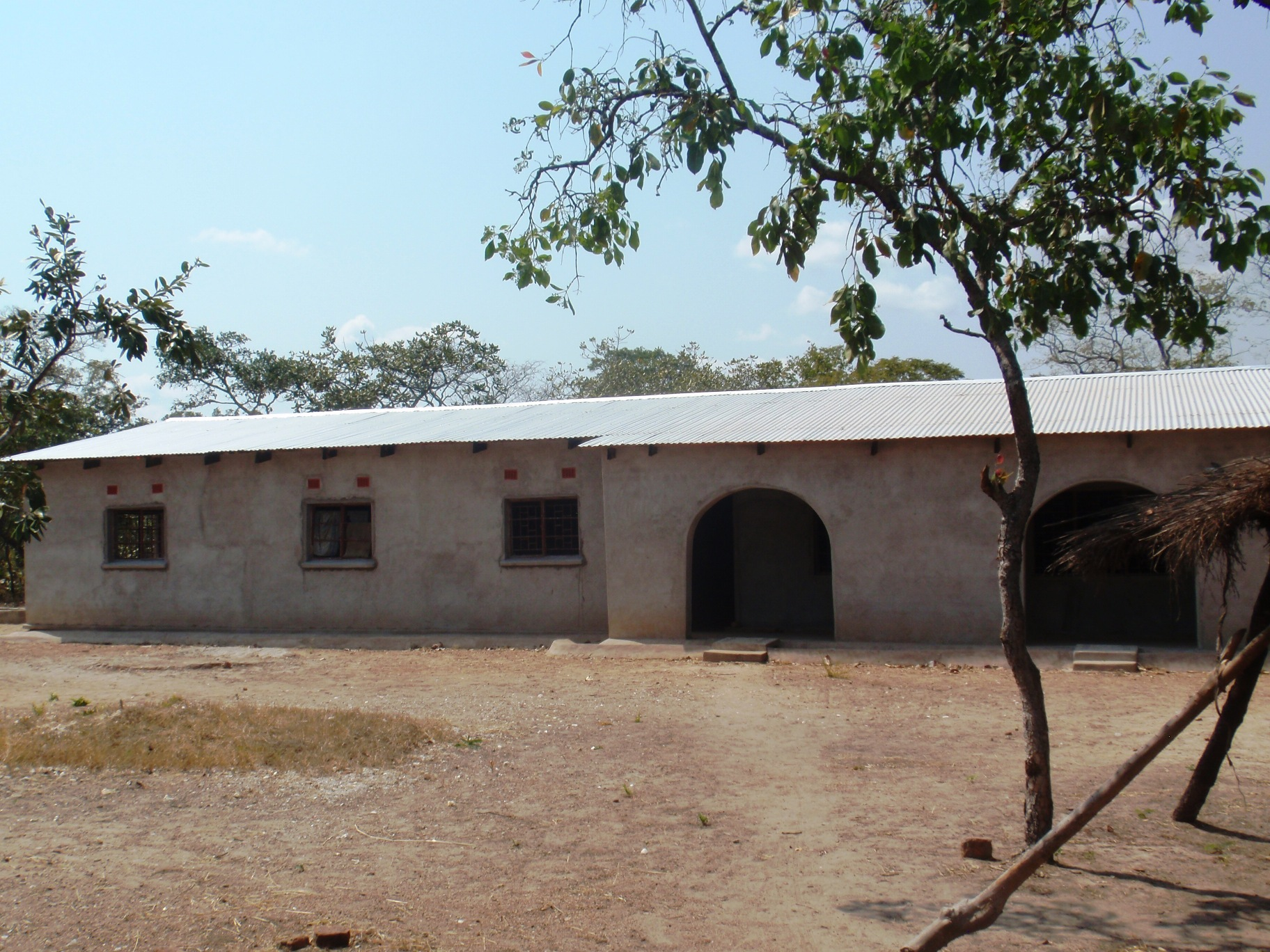 Chasefu Principal's House, where I will live after completing my MTh dissertation, rural eastern Zambia.