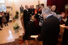 Rola receiving ordination prayer