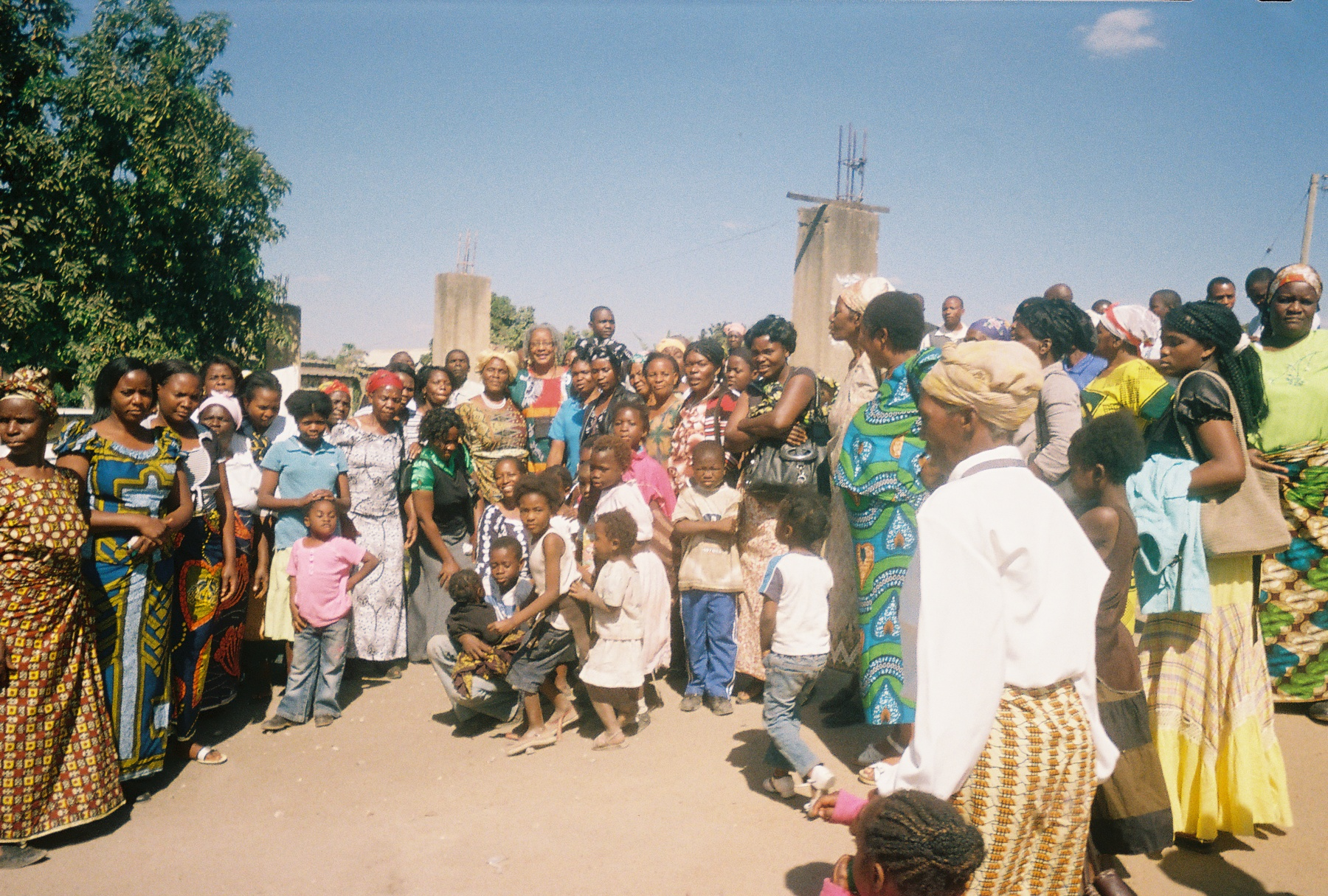 The Presbyterian Church in Zambia George Congregation. I am among the group (2010).