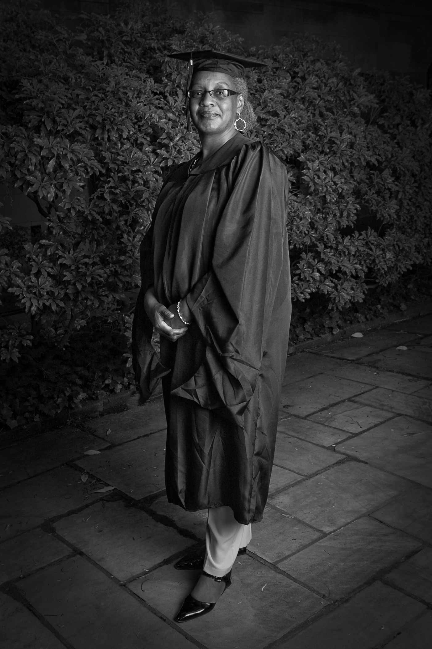 Graduating with my Master of Divinity (2010).