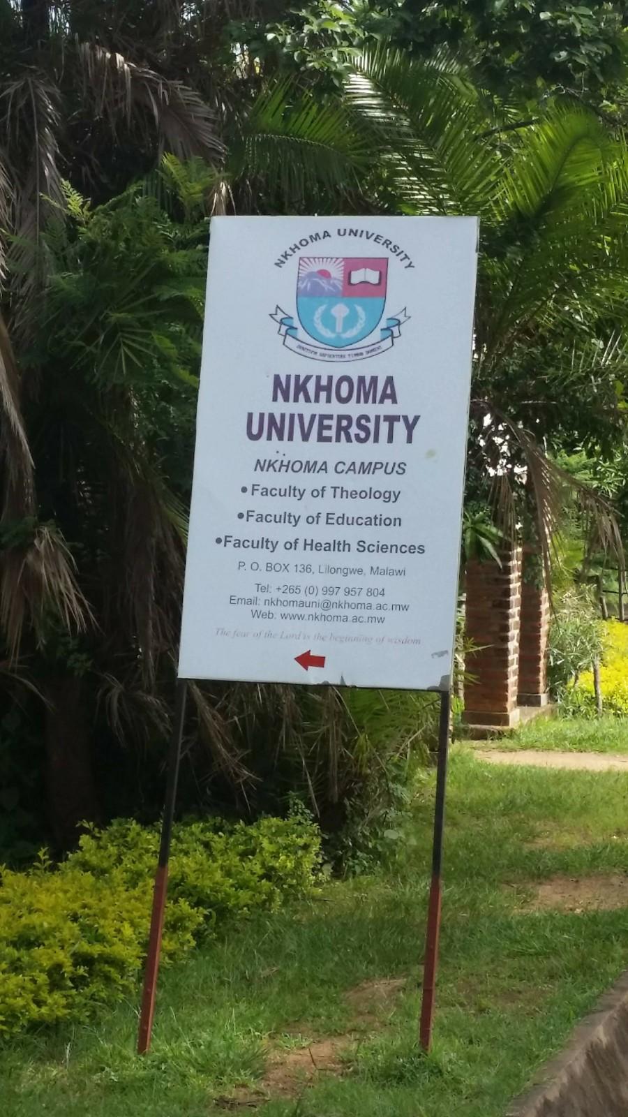 Nkhoma University in Malawi.