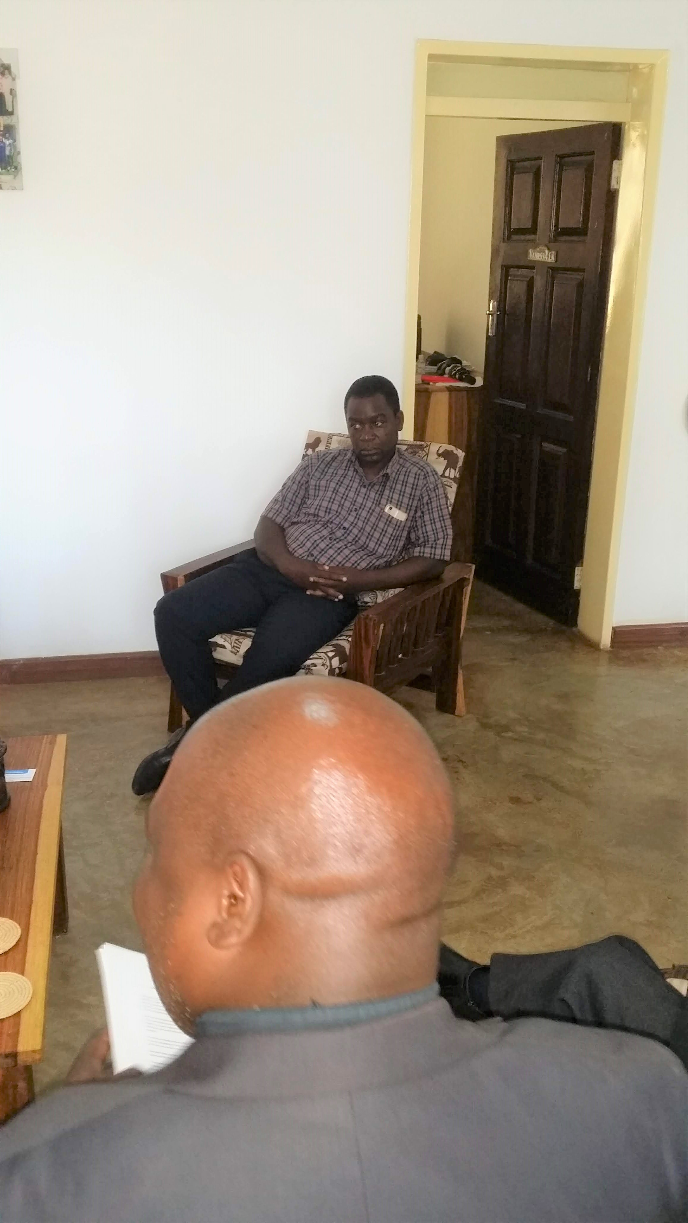 Reverend Edward Chirwa.