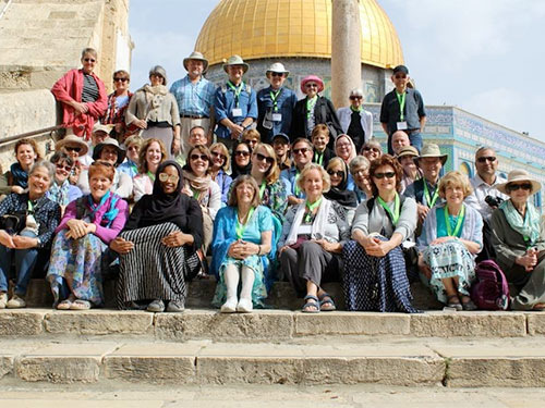 Mosaic of Peace temple mount