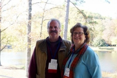 Don and Christy Foster of Mound Ridge (Mo.) Camp and Retreat Center. (Photo by Emily Enders Odom)