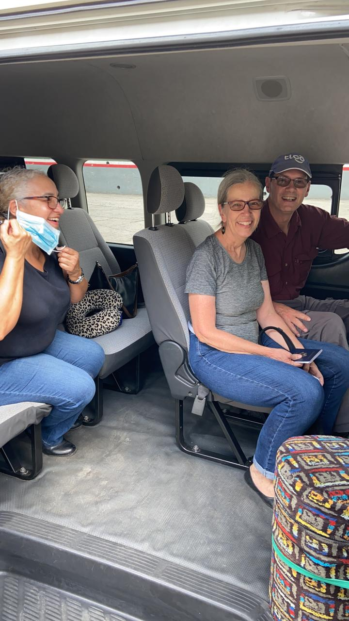 Three mission coworkers safely across the Mexico border