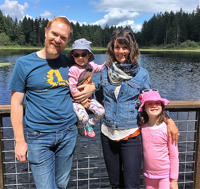 Our family enjoying the Seattle area (credit: George Gilchrist)