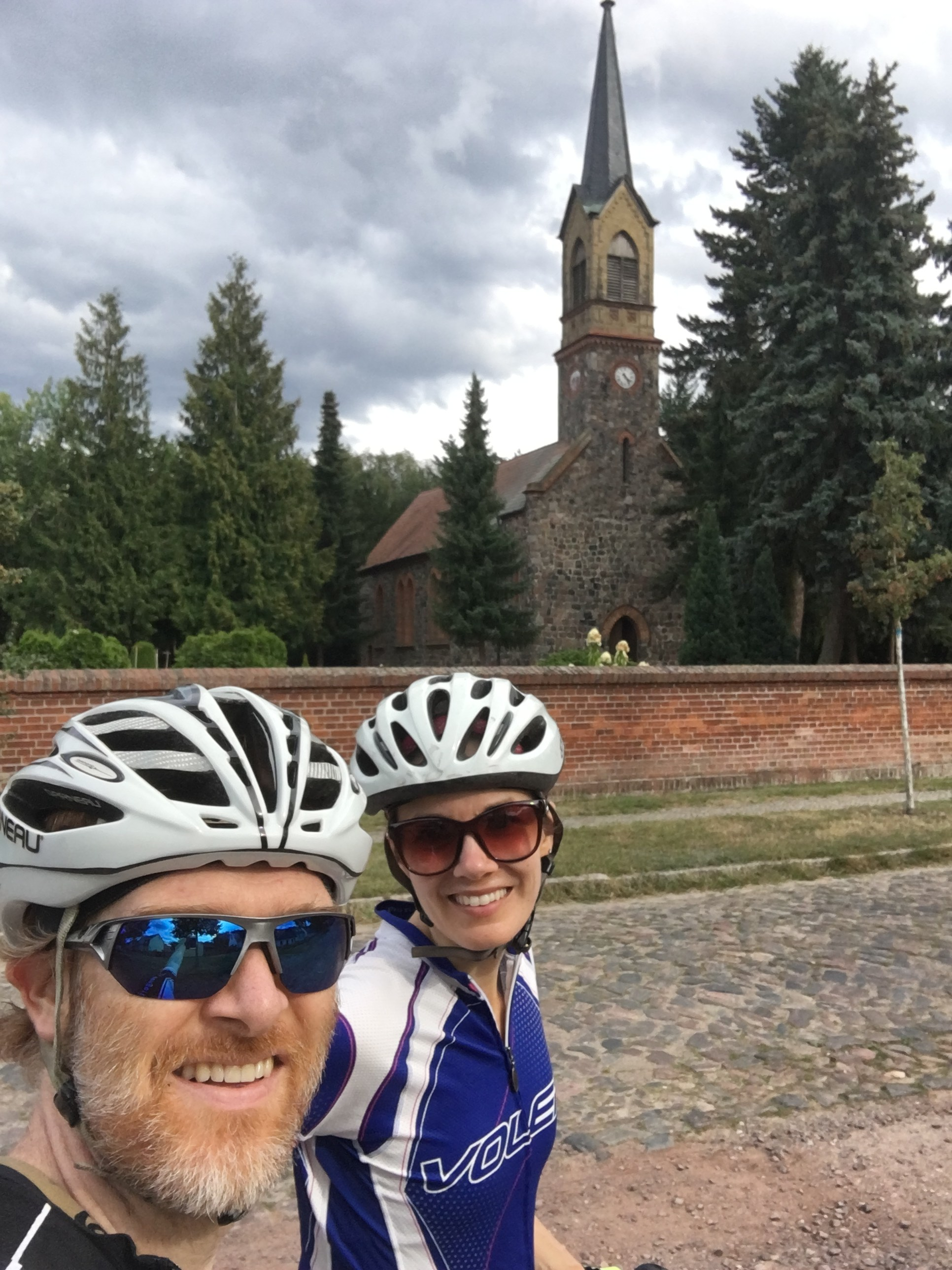 We celebrated our 14th wedding anniversary with a long bike ride through Brandenburg (the countryside around Berlin). During this year we are especially thankful for opportunities for rejuvenation and to enjoy the refreshing beauty of God's creation.
