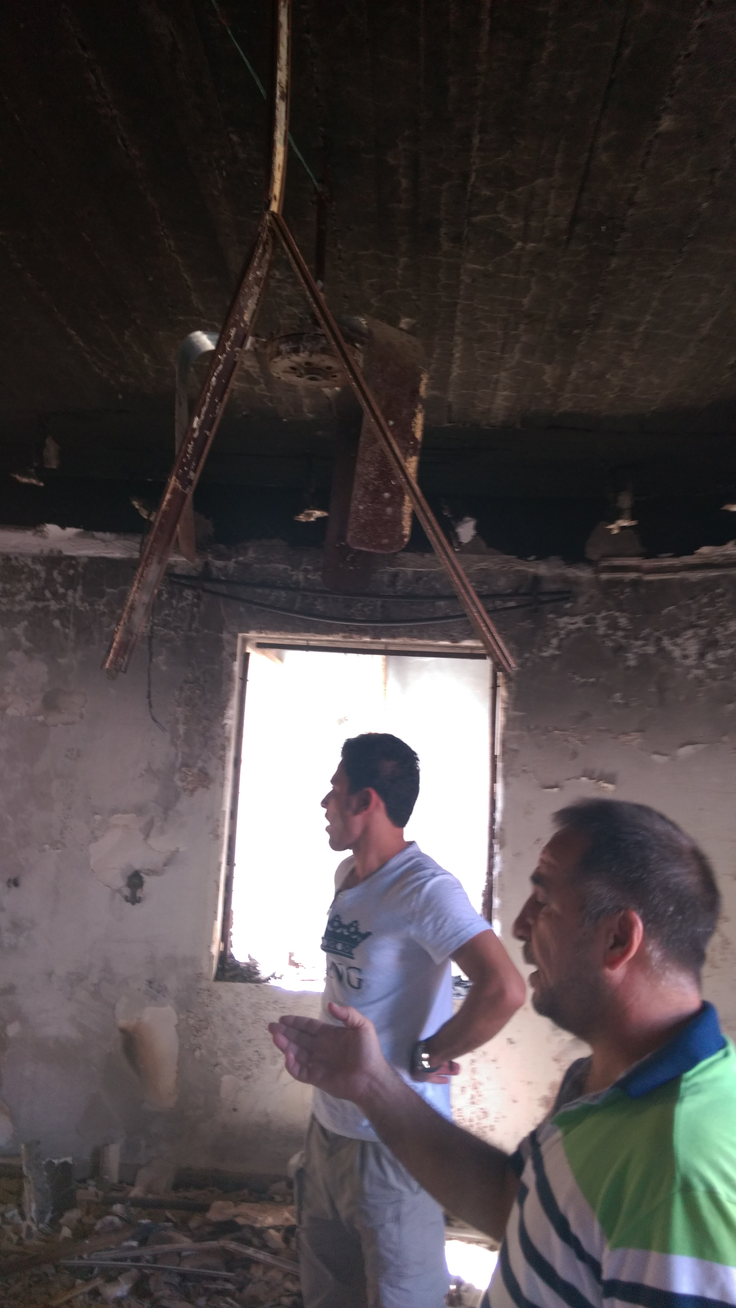 This is the state of one Christian family's home when they returned to the Nineveh Plain earlier this year.